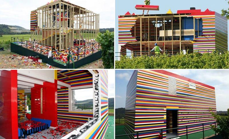 Дом из конструктора «Лего», Джеймс Мэй – британский телеведущий и автор проекта