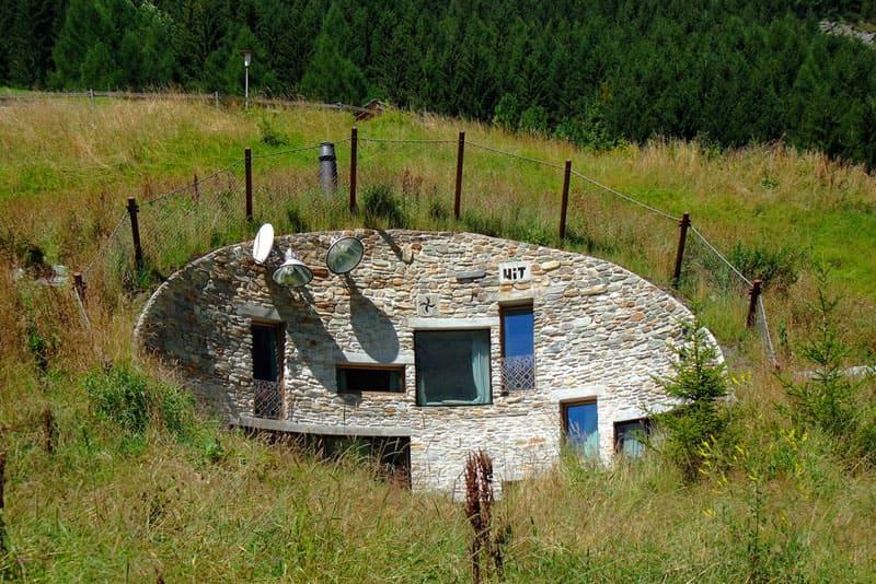 В конце концов, дом можно просто вырыть в земле, как это делали хоббиты