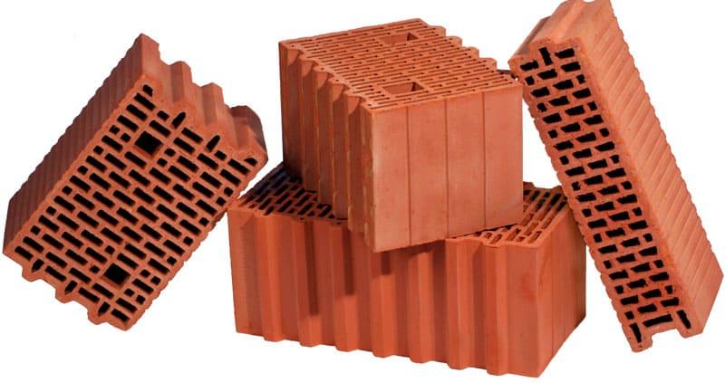 Керамоблоки различного формата