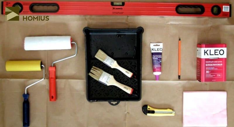 Подготовим инструменты для работы