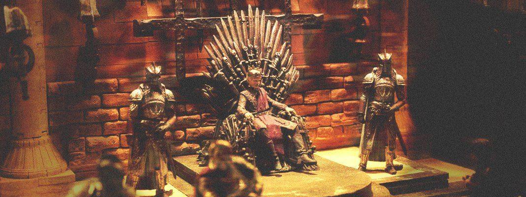 Как создавались мебель и декорации к Игре престолов