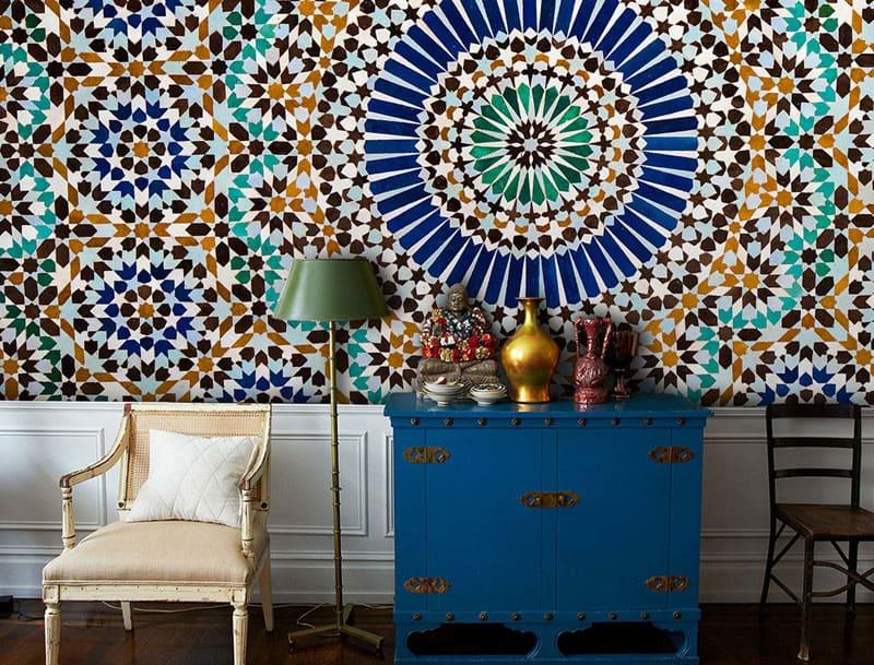 Обои в марокканском стиле