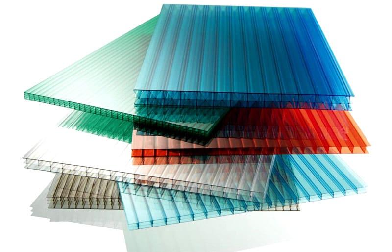 Сотовый поликарбонат состоит из полостей разного калибра