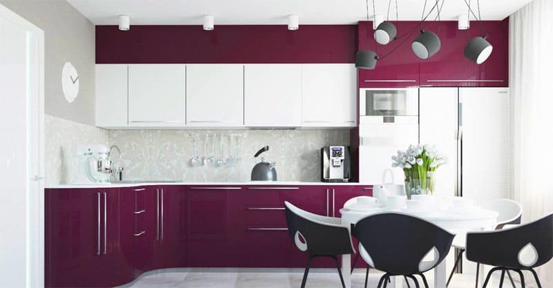 Основное правило модерна – фасады мебели всегда плоские