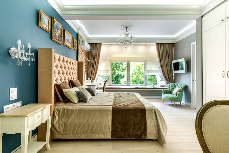 Роскошная кровать Татьяны Васильевой
