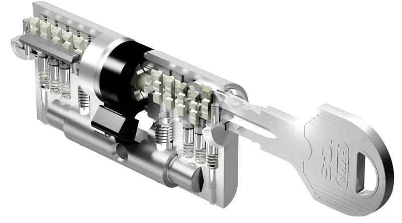 Механизм может иметь несколько пар возвратных пружин