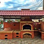 Мангал с крышей: лучшие идеи для великолепного шашлыка