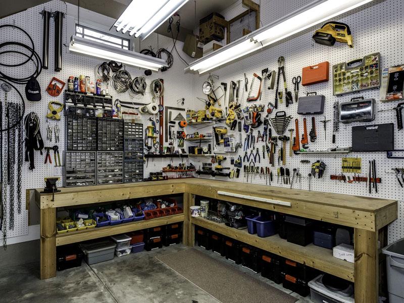 10 идей для идеального порядка в гараже