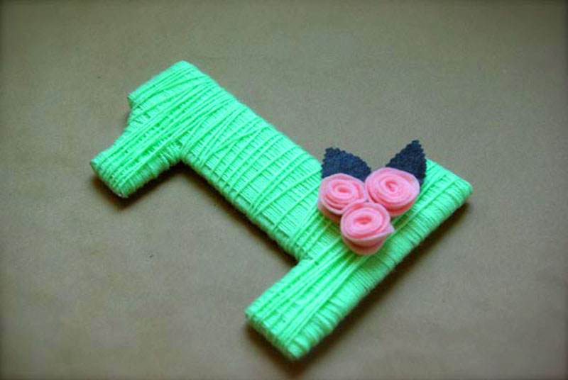 Вариант использования лент вместо ниток