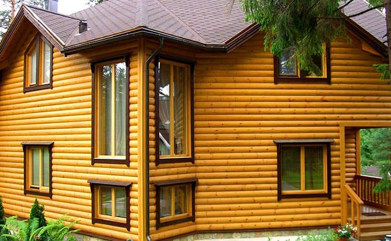Блок-хаус позволяет сохранить уникальный микроклимат помещения