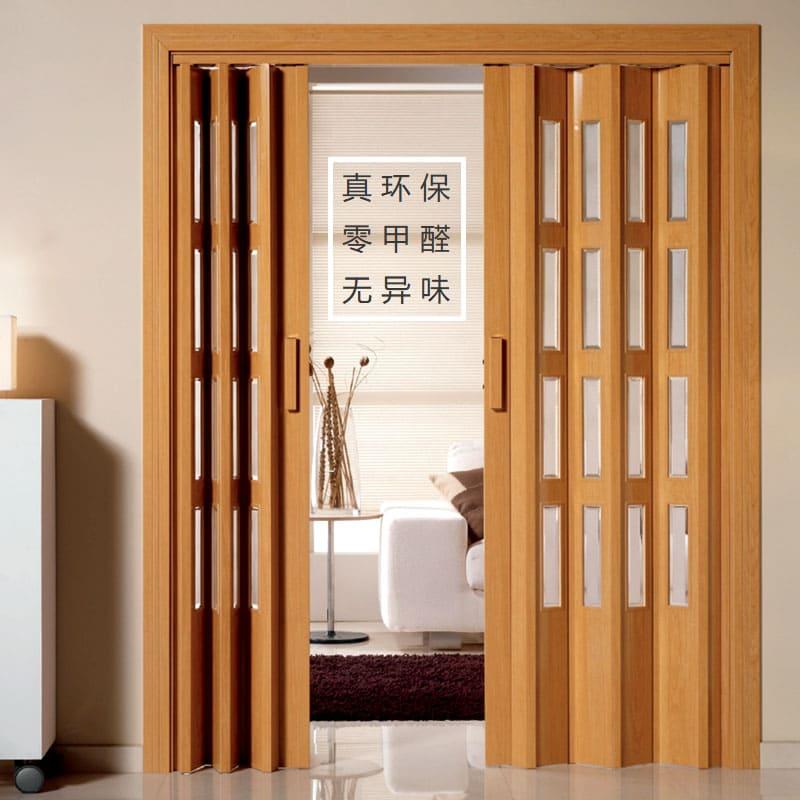 Вариант раздвижно-складной двери