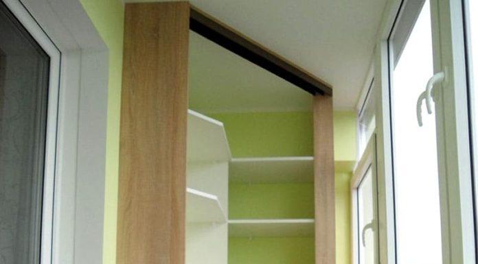 Шкаф на балкон: когда нежилая территория становится полезной