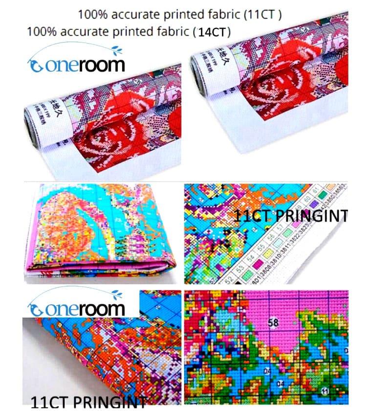 Варианты схем могут быть самые разные – в наборе вам предложат раскладку по цветам