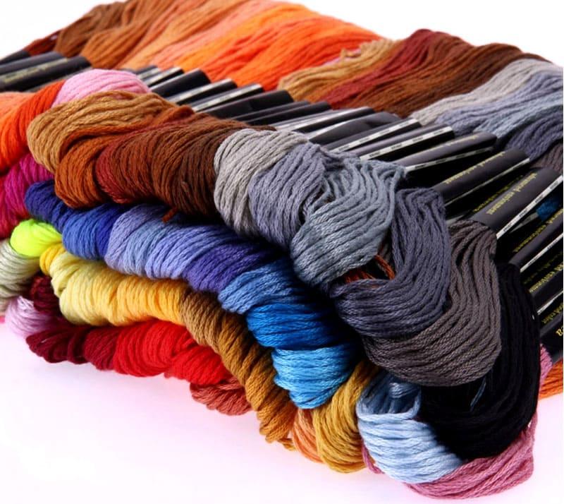 Цветовая гамма поражает своим разнообразием