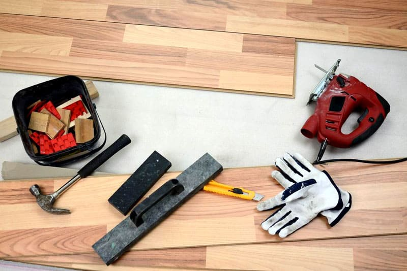 Инструменты для укладки паркета