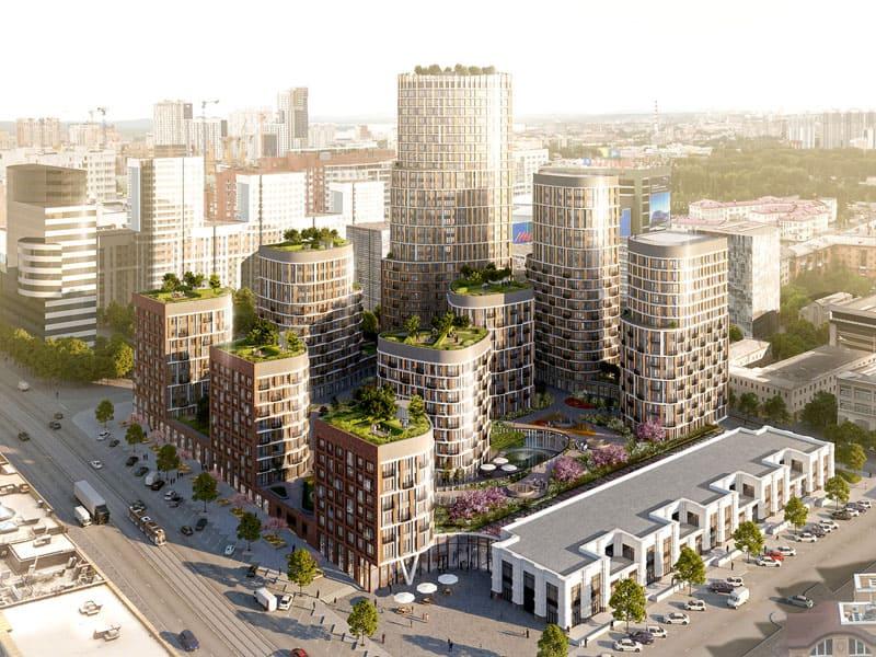 Именно деятельность девелоперов приводит к преображению вида современного города