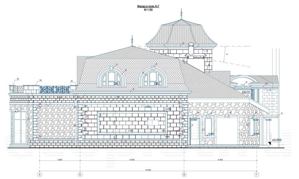Пример проекта реконструкции бассейна