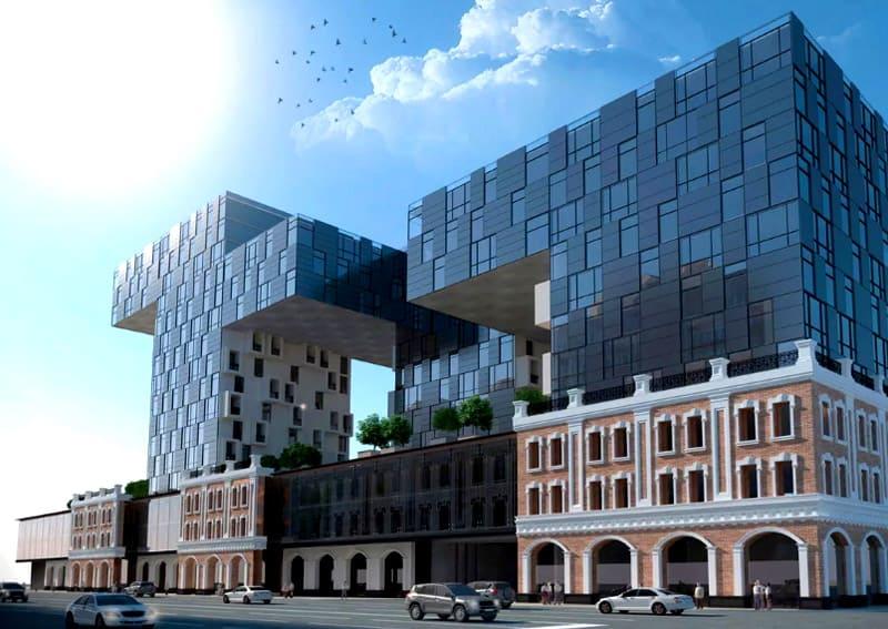 Зачастую перестройка зданий требуется в том случае, если рядом возводятся новые объекты, иного уровня, размера и назначения