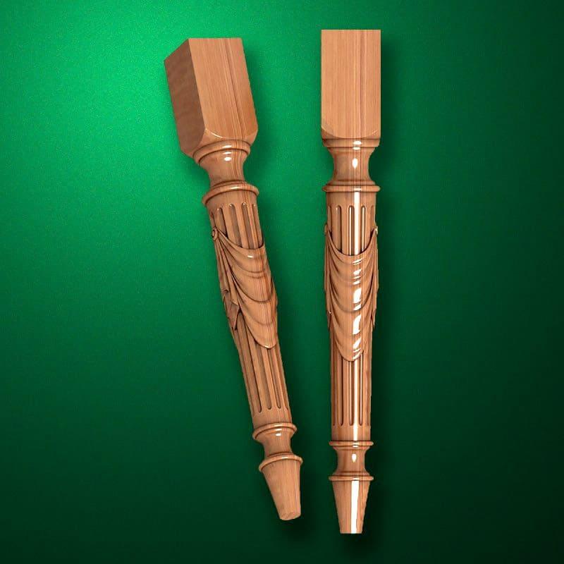 В современном мире существует огромное количество лаков и покрытий. Можно использовать разные покрытия и придать ножкам определенный цвет, блеск