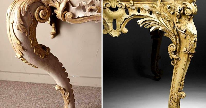 В XVIII веке купить мебель в стиле кабриоль могли только люди высших сословий, богатые и знающие, что такое роскошь