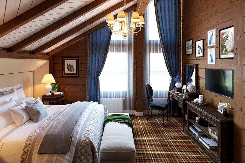Из мансарды часто делают удобные спаленки