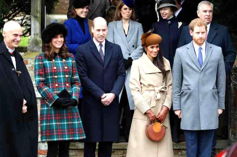 Здесь на рождественские праздники собирается вся королевская семья