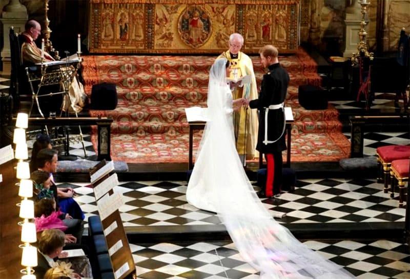 Свадьба наследного принца Гарри и Меган Маркл