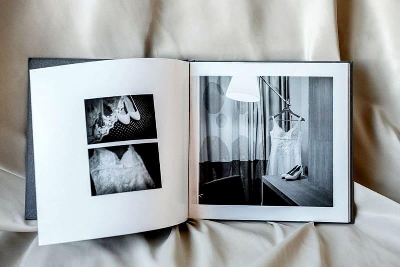 В минимализме фото может занимать не всю страницу, а только часть её