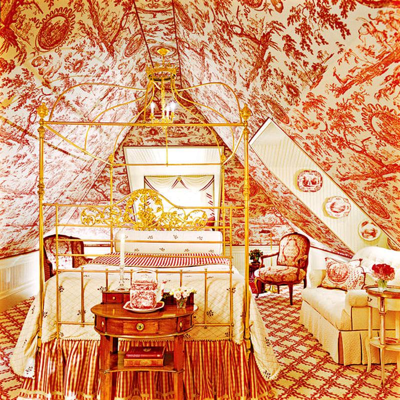 Это спальня экспериментатора и одиночки