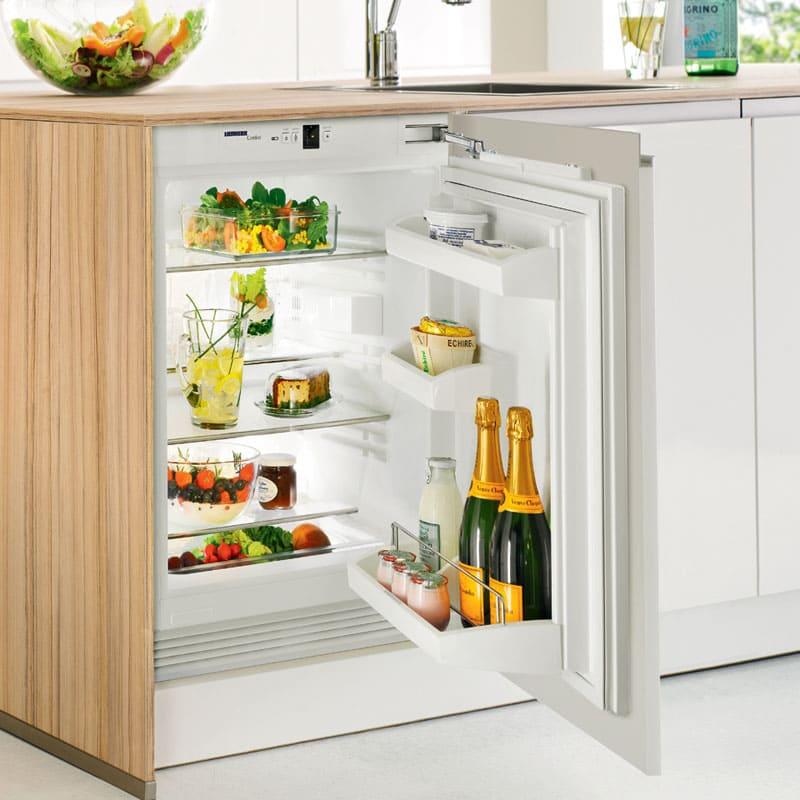 Однокамерный холодильник может быть с морозильной камерой либо без неё