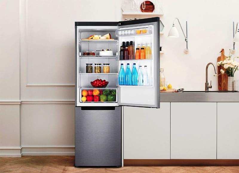 Двухкамерный холодильник подойдёт для семьи из 1-4 человек