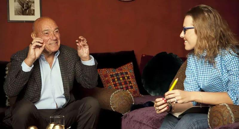 В кабинете Познер редкое даёт интервью