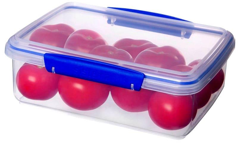Кроме того, пластик хорошо моется, а также ёмкости снабжены специальными фиксаторами против произвольного открывания