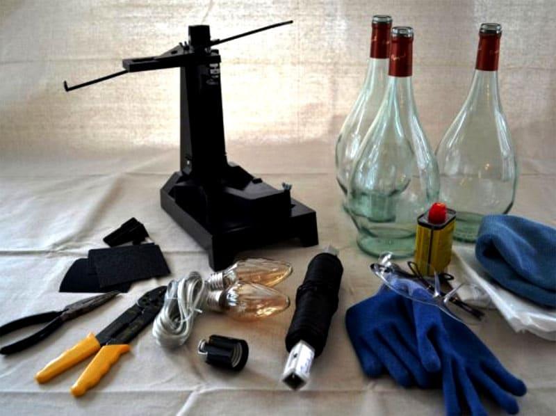 Материалы для изготовления люстры