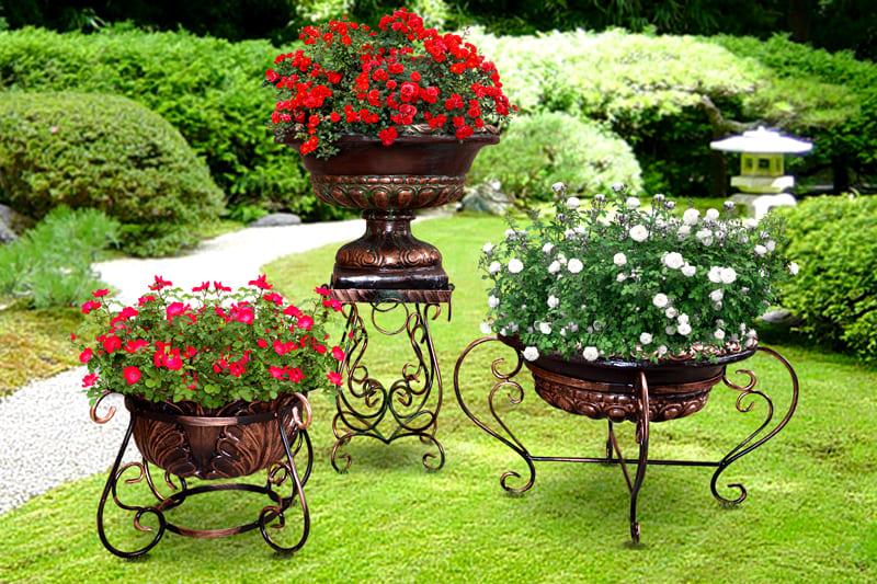 Цветы без вазона зачастую как картина без подходящей рамы. Совсем другой вид