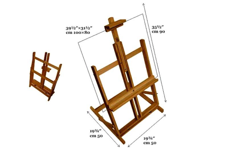 Удобный складной макет из бруса
