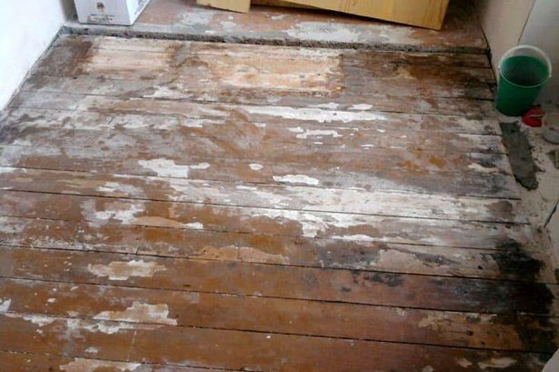 Перестилаем деревянные полы