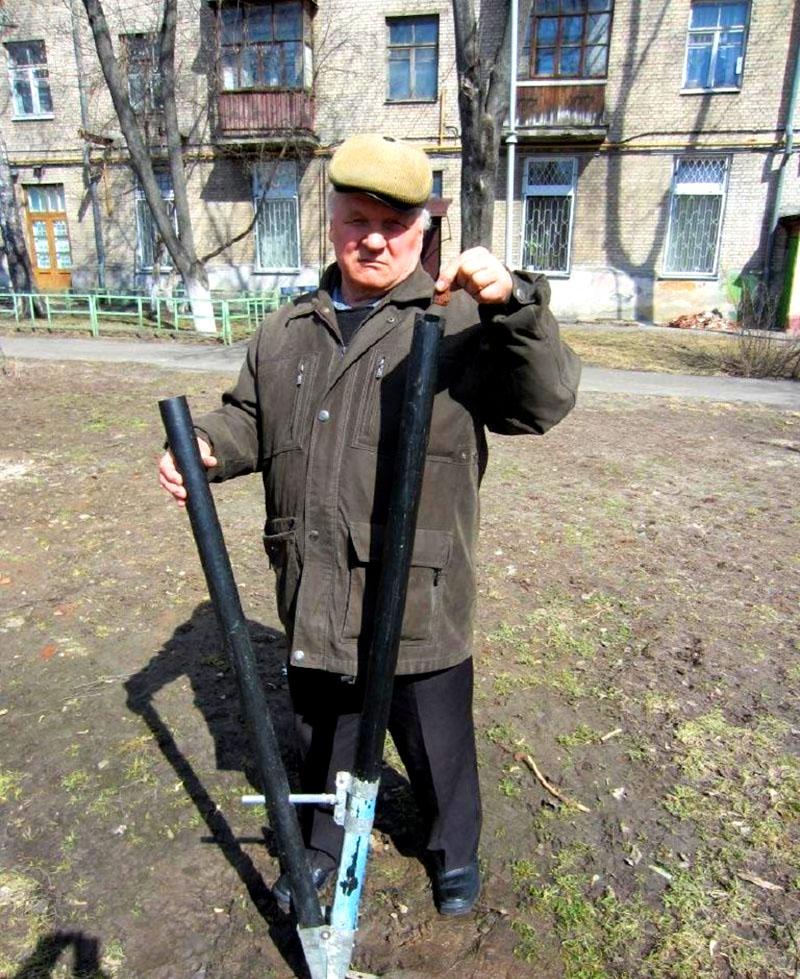 Модернизированная чудо-лопата