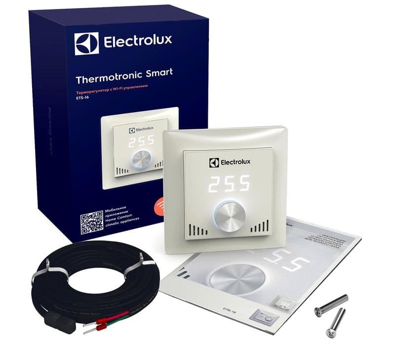 Electrolux Thermotronic Touch – марка, не нуждающаяся в представлении