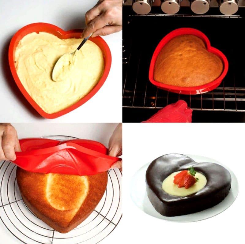 Форму для приготовления кулинарного шедевра здесь можно найти на любой вкус