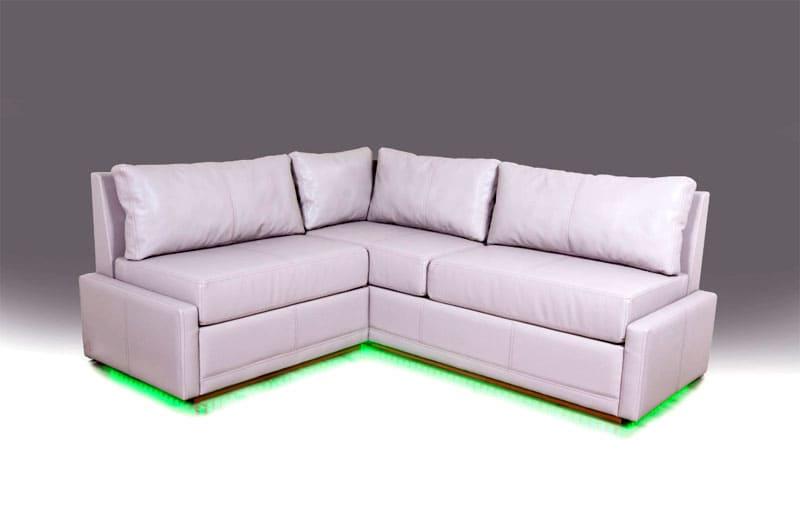 Угловой диван в стиле минимализм – это комфорт и полное отсутствие декора