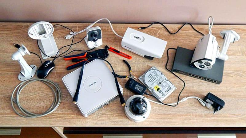 Минимальный набор системы видеонаблюдения