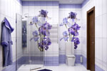 Отделка стен в ванной пластиковыми панелями за 1 день