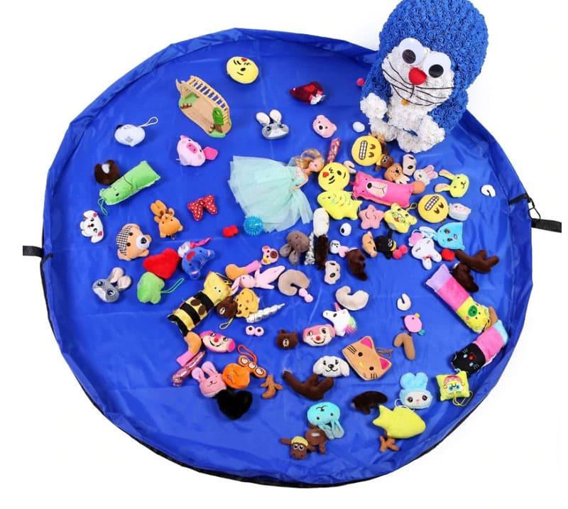 Такое решение навсегда освободит вас от необходимости собирать мелкие игрушки, к примеру, такие как лего
