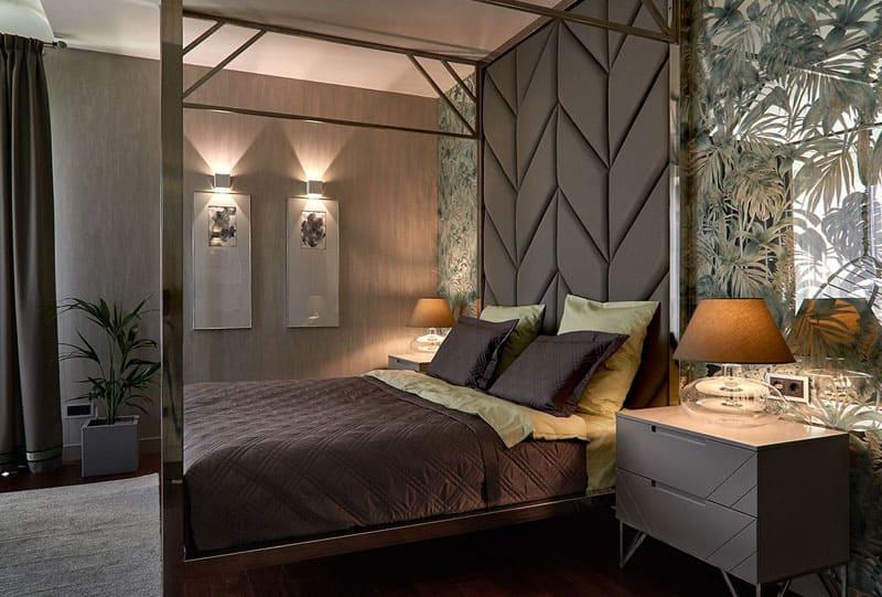 Спальня в Зазеркалье и другие неожиданные приёмы в дизайне жилища Стаса Костюшкина