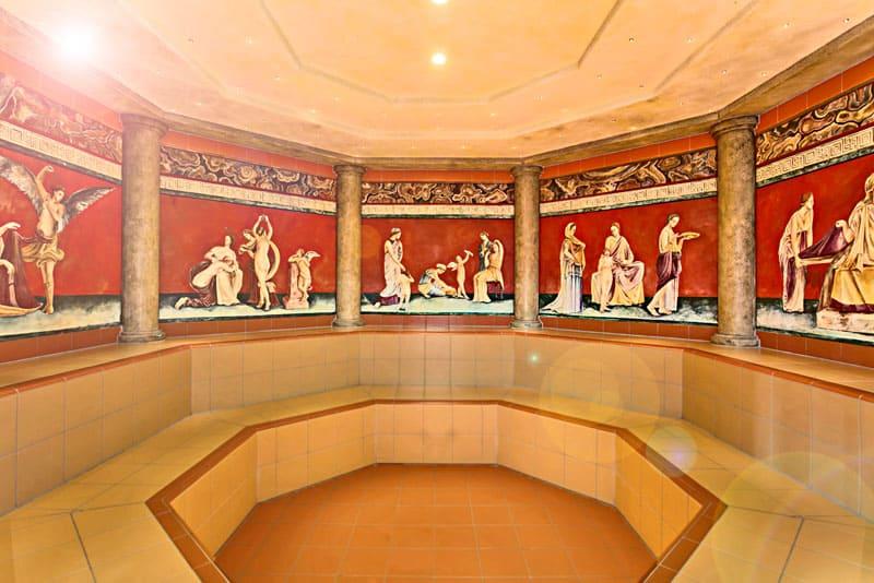 Термы были развлекательными центрами античной эпохи – в них культивировались традиции общения, спорта, гигиены и косметологии