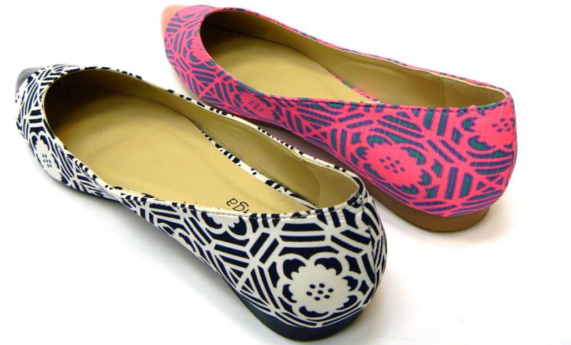 Вискозная нить также используется при производстве текстильной обуви