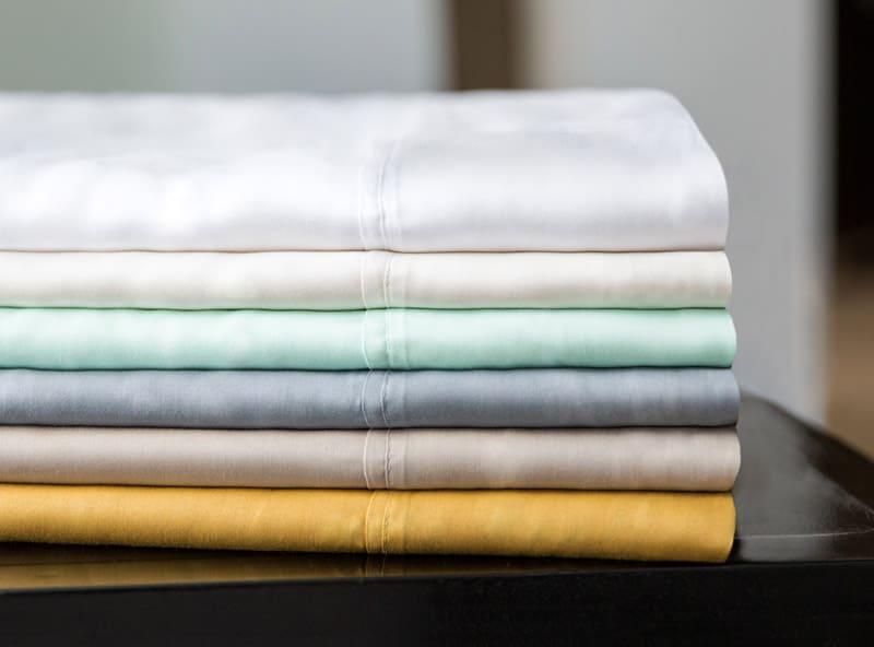 Тенсел чаще всего идёт для пошива постельного белья или домашнего текстиля