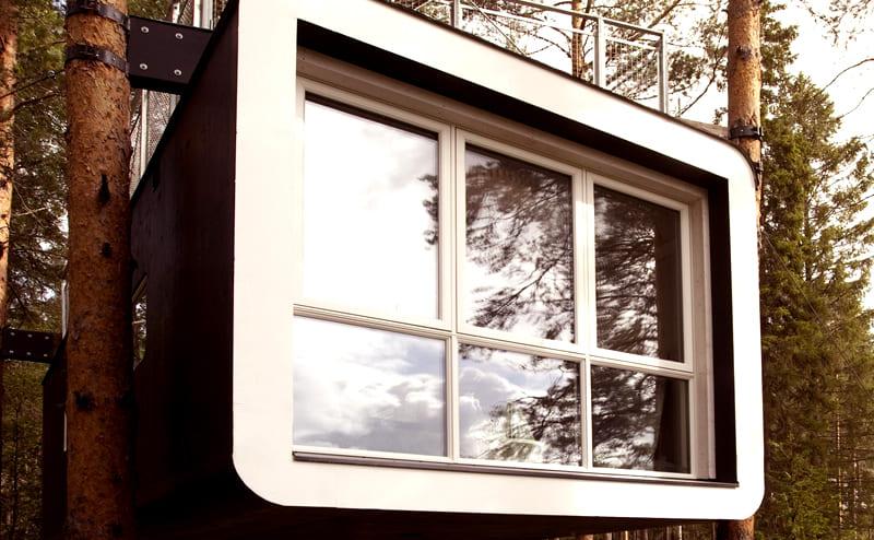 Площадь одного дома небольшая – до 30 квадратных метров, но смотрится это очень необычно