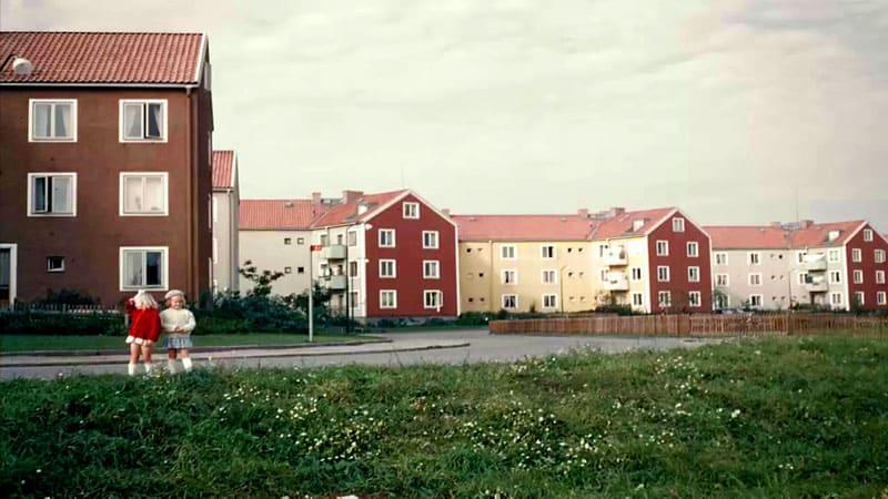 Так выглядели «хрущёвки» в Швеции в середине пятидесятых годов прошлого столетия